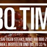 Gourmetfleisch.de: BBQ-Time mit bis zu 33% Rabatt auf ausgewählte Artikel