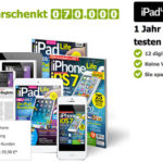 1 Jahr gratis iPad Life & iPhone Life