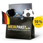 10% MeinPaket-Gutschein