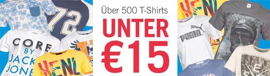 t-shirts günstig angebot aktion sommer
