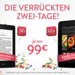 Kindle Papherwhite 3G und Kindle Fire HD (32GB) für je nur 99,00€ inkl. Versand