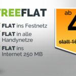 Allnet-Flat, 250MB Internetflat im Telekom-Netz für nur 8,28€/Monat