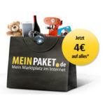 MeinPaket: 4€ Gutschein mit nur 15€ MBW