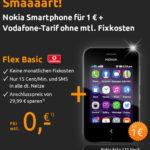 Smartphone Nokia Asha 230 für 1,15€