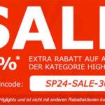 30% Extra-Rabatt auf ausgewählte Ware bei SP24 – z.B. Adidas Top Ten Hi Sleek für 47€ statt 60€