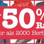 M and M Direct: Über 50% Rabatt auf über 2.000 Herbststyles