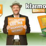 Klarmobil Vodafone Allnet-Starter Tarif für 5,95€ monatlich – 400MB Internet, 100 Frei-Minuten, 100 Frei-SMS