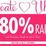 Beate Uhse: Sale mit bis zu 80% Rabatt + 10% Extra-Rabatt