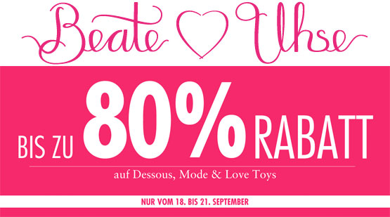 Beate Uhse Sale