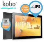 Kobo Arc 10HD – 10″ Android Tablet mit 2560 x 1600 Auflösung für 175,90€ inkl. Versand (statt 229,08€)