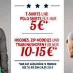 Hoodboyz: T-Shirts & Polos für 5€, Hoodies & Zip-Hoodies & Trainingshosen für 10-15€