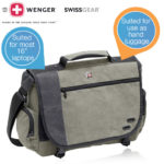 Wenger GA-7659-07F00 – Zinc Messenger Notebook Tasche bis 16 Zoll für 25,90€ inkl. Versand