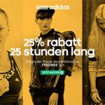 Adidas: 25% Rabatt auf alles – auch auf Sale-Artikel