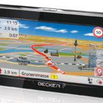 Becker Ready 50 LMU Plus Navigationsgerät (12,7cm/5″, Europakarten, Touchscreen) für 129,00€ inkl. Versand (statt 154,95€)