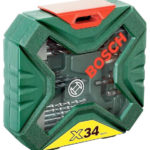 BOSCH X-Line 34-tlg. Bohrer- & Schrauberset für 11,00€ inkl. Versand