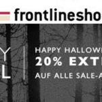 Frontlineshop: 20% Extra-Rabatt auf bereits reduzierte Artikel