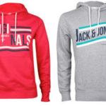 Jack & Jones Oppose Herren-Kapuzenpullover 4 unterschiedliche Modelle für jeweils 16,95€ inkl. Versand
