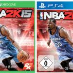 NBA 2K15 für die PS4 oder XBOX One für 29,00€ inkl. Versand (statt 51,99€)