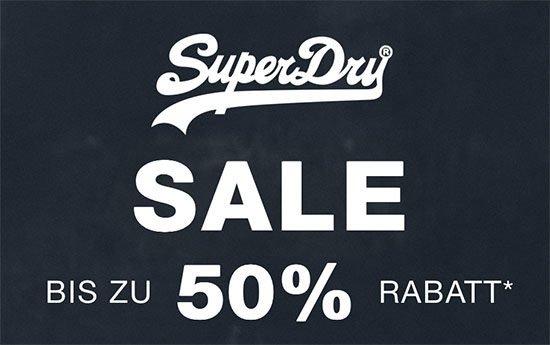 Kleidung Superdry sparen angebot deal