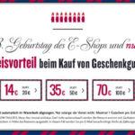 TomTailor – 30% Rabatt auf alle Geschenkgutscheine