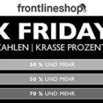 Frontlineshop: Black Friday Sale mit 70% Rabatt und mehr