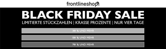 Black Friday Frontline shop
