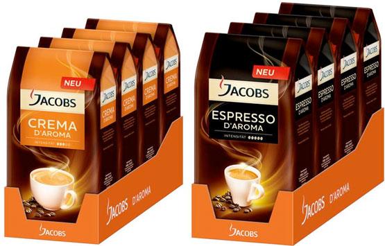 kaffee bohnen günstig angebot crema espresso