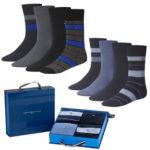 Tommy Hilfiger – 4er Pack Herren-Socken in Geschenkbox für 17,95€ inkl. Versand