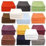 Handtuchsets in verschiedenen Varianten und Farben für je 9,99€ inkl. Versand (z.B. 4 Handtücher oder 12 Waschhandschuhe)