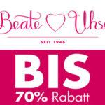 Beate Uhse: Sale mit bis zu 70% Rabatt + 15% Extra-Rabatt