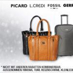 Galeria Kaufhof: 20% Rabatt auf Handtaschen und Reisegepäck + 10% Gutschein