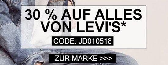 Kleidung Schnäppchen Deal Levis Levi's