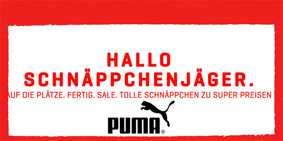 puma sale end of season rabatt aktion