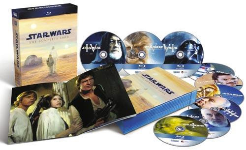 star wars complete saga bluray box set