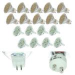 LED Strahler: 10x 3W oder 8x 5W mit Fassung GU10 oder MR16 für nur 17,99€ inkl. Versand