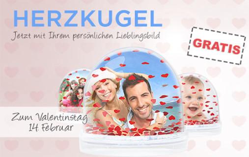 herzkugel valentinstag geschenk fotogeschenk