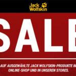 Jack Wolfskin: Sale mit bis zu 50% Rabatt + kostenlose Lieferung  + 10€ Gutschein