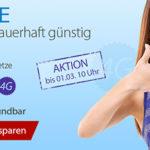 DeutschlandSIM LTE-Tarife günstig und ohne Vertragslaufzeit (z.B. Allnet- & SMS-Flat + 2 GB LTE-Flat für 19,95€ mtl.)