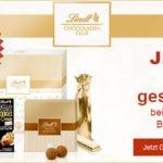 Lindt Chocoladen Club: 25% auf die 1. Überraschungsbox