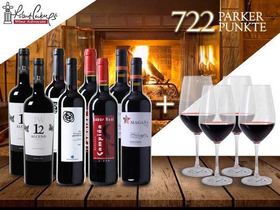 Rotwein Gutschein Robert Parker Angebot Rotwein Deal