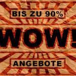 Kapatcha: WOW-Angebote mit bis zu 90% Rabatt + Gutscheine