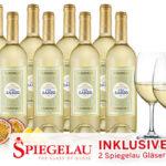 8 Flaschen Viña Sanzo Clásico Weißwein + 2 Spiegelau Weißwein-Gläser für 39,90€ inkl. Versand (statt 115,92€)