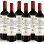 6 Flaschen goldprämierter Rotwein Château Les Mondons für 39,99€ inkl. Versand (statt 90,69€)