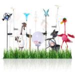 LED Garten-Deko-Solarleuchten verschiedene Varianten für je 9,99€ inkl. Versand