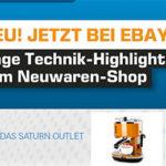 Saturn Outlet Angebote bei eBay + 10% Extra-Rabatt