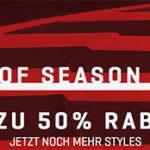 PUMA – End of Season Sale mit bis zu 50% Rabatt