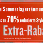 Tom Tailor: Final Summer Sale mit bis zu 70% Rabatt + 30% Extra-Rabatt