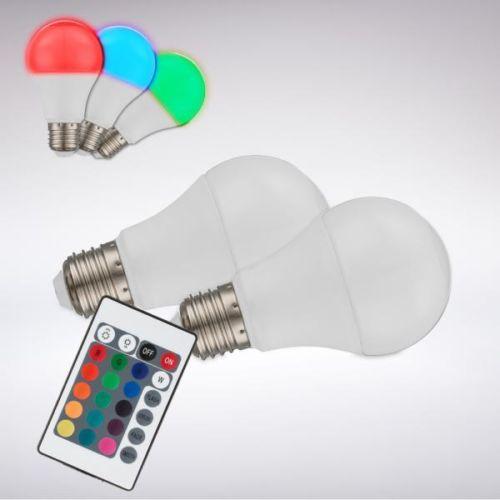 LED RGB leuchte angebot deko leuchtmittel e27