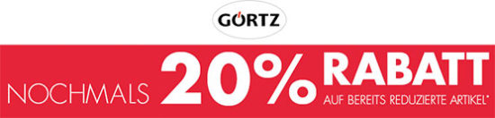 440d896d412a34 ... alles · Görtz  Sale mit 50% Rabatt + 20% Extra-Rabatt + kostenlose  Lieferung
