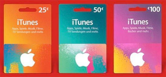 iTunes Apple Rabatt Guthaben Sparen Deal